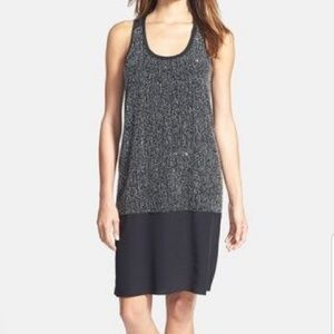 Eileen Fisher Sequin Rivulet Silk Tank Dress